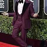 Wesley Snipes at the 2020 Golden Globes