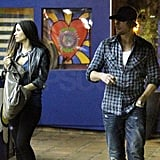Gabriel Aubry Takes a Night Off From His Custody Battle For a Date