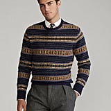 Ralph Lauren x Friends  Fair Isle Wool Sweater