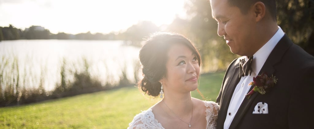 A Modern Reception Followed This Couple's Beautiful Buddhist Ceremony