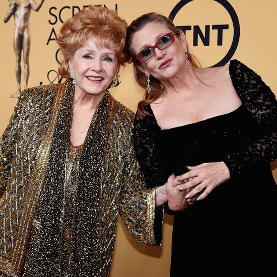 Debbie Reynolds and Carrie Fisher Tribute at Golden Globes