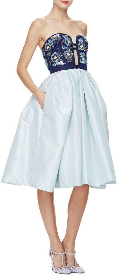 Oscar de la Renta Strapless Cocktail Dress ($5,490)