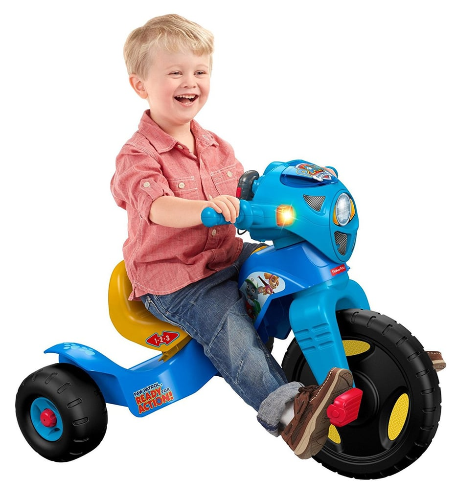 For 3-Year-Olds: Fisher-Price Nickelodeon PAW Patrol Lights & Sounds Trike