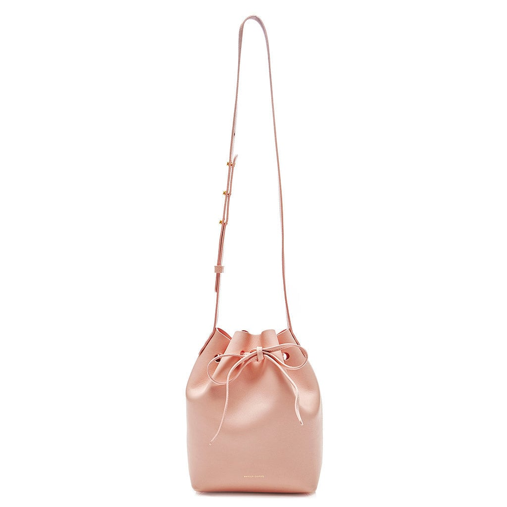 A Mansur Gavriel mini bucket bag