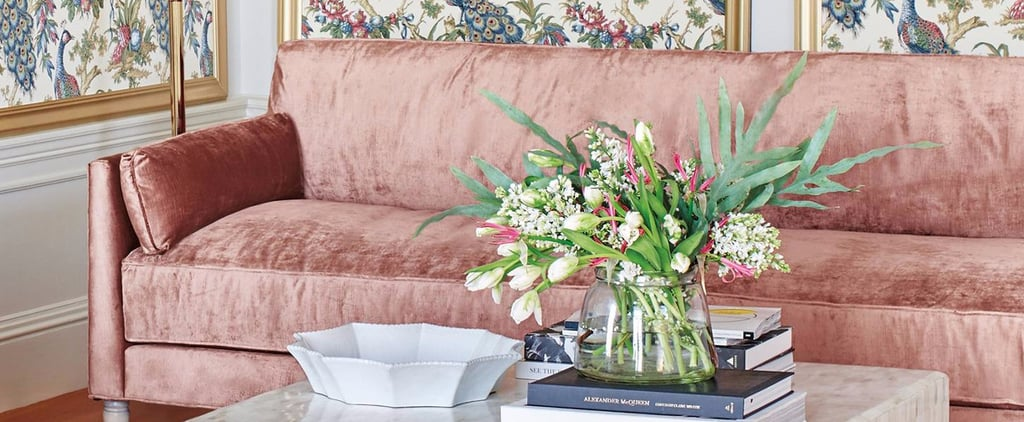 There's a Reason You Keep Seeing Dreamy Pink Velvet Sofas Everywhere