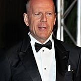 Bruce Willis got dressed up for the Cannes Film Festival opening night dinner.