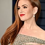 Isla Fisher at the 2019 Vanity Fair Oscars Party