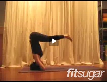 YOGA CHALLENGE VIDEO:  Double Arm Headstand