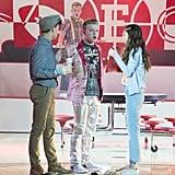 Andrés Peñate and Joe Serafini on High School Musical: The Musical: The Series