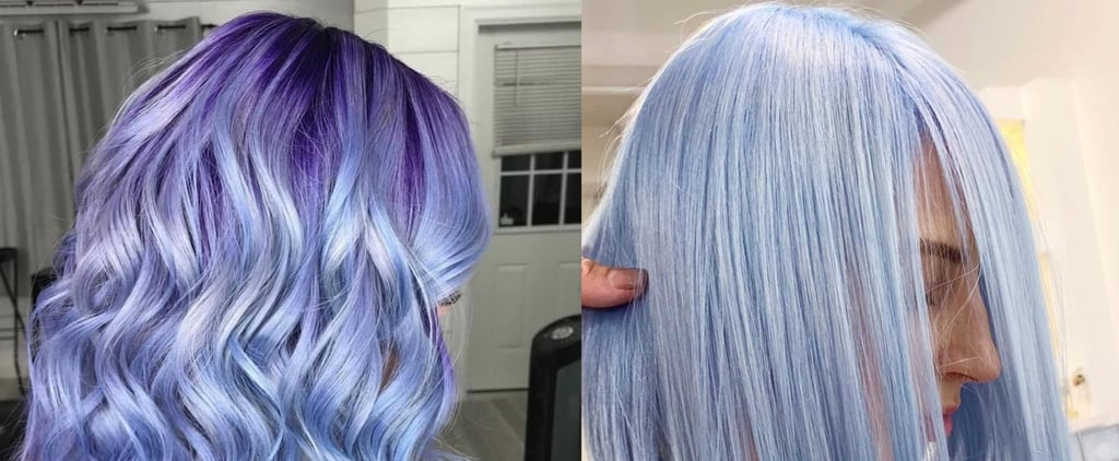 Periwinkle Hair Colour Trend
