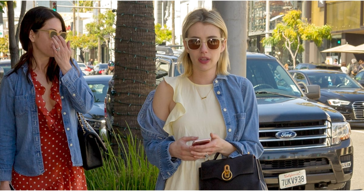 Emma Roberts Found the Cutest Pair of Affordable Sandals Before Spring Even Arrived