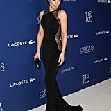 Try to Look Away From the Lovely Little Details in Kate Beckinsale's Black Lace Gown