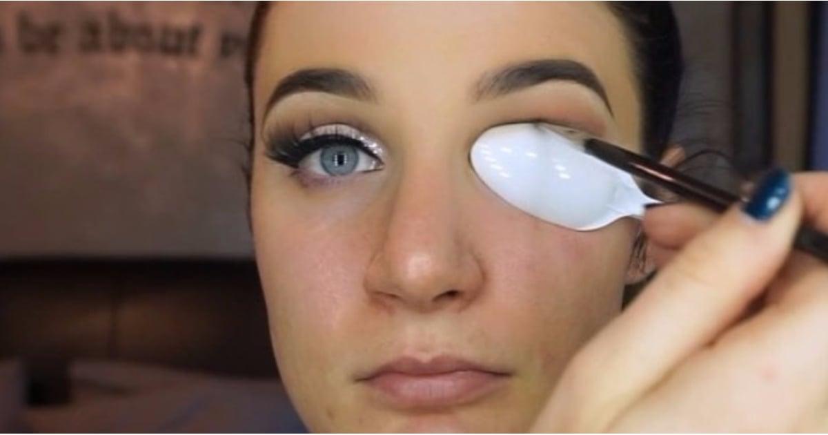Spoon Cut Crease Eye Shadow Tutorial Popsugar Beauty