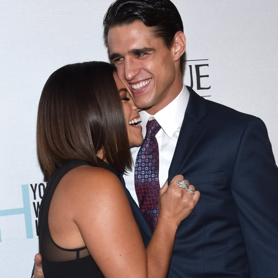 Gina Rodriguez and Joe LoCicero at Young Women's Honors Gala