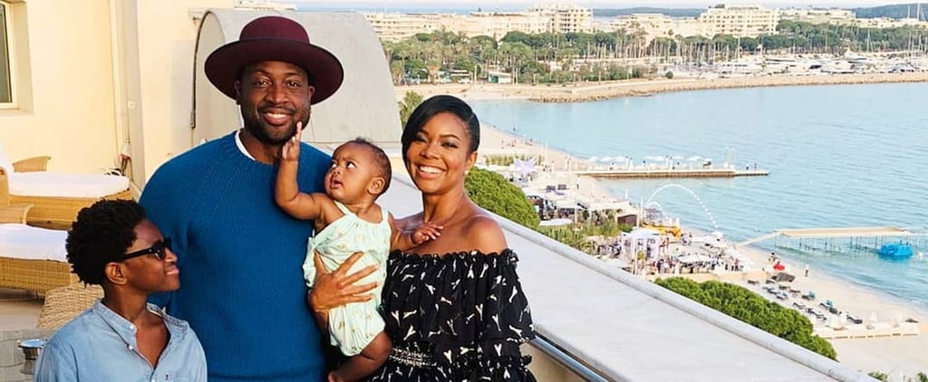 Gabrielle Union and Dwyane Wade at 2019 Cannes Lions Photos