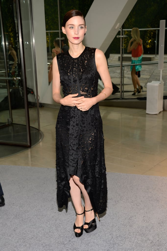 Rooney Mara wore Calvin Klein to the CFDA Awards.