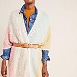 Rainbow Eyelash Kimono