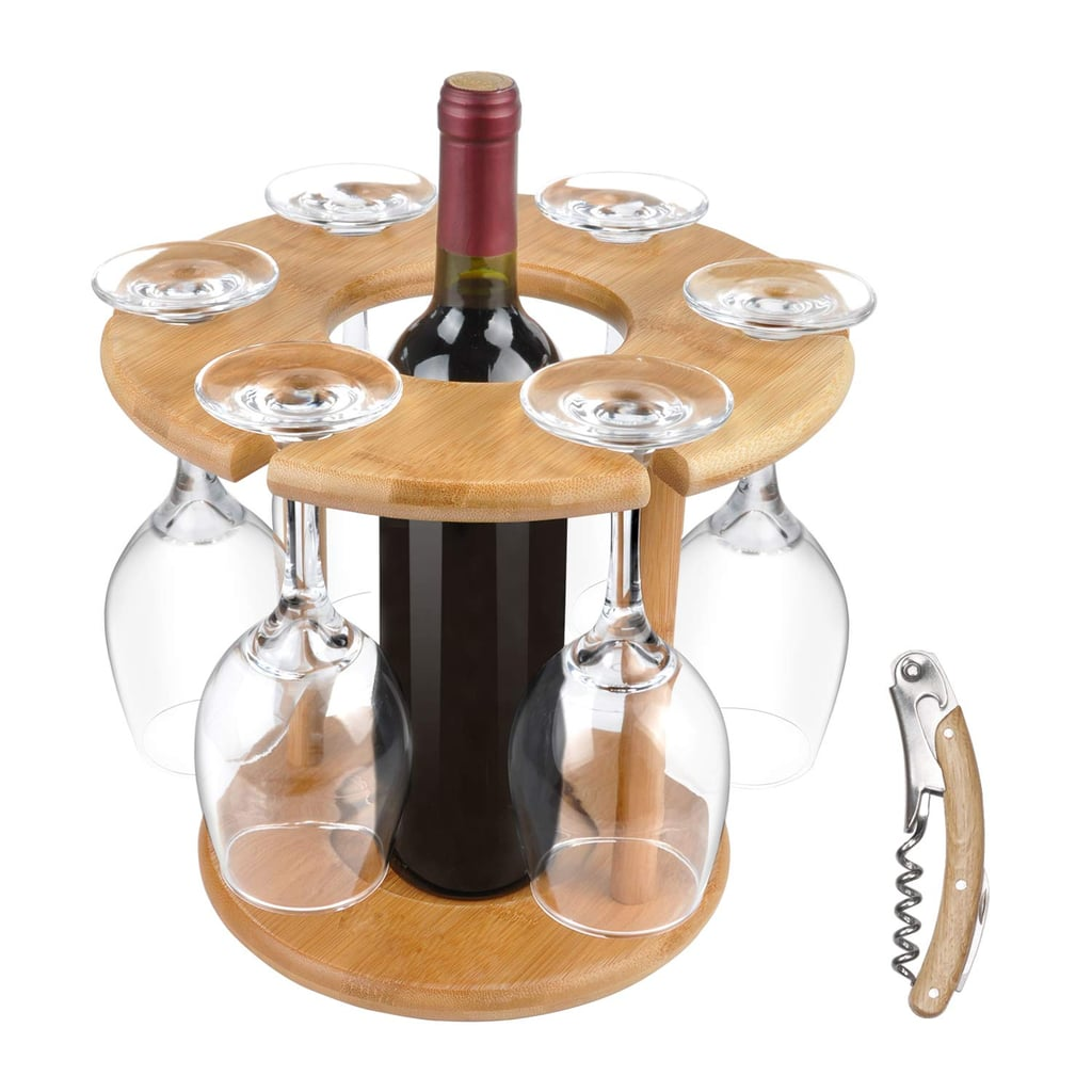 Wine Glass Drying Rack and Bottle Holder