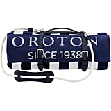 OROTON Towel Strap $295 and Velours Towel $125