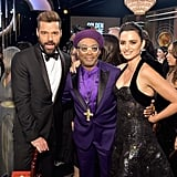 Pictured: Ricky Martin, Spike Lee, and Penélope Cruz