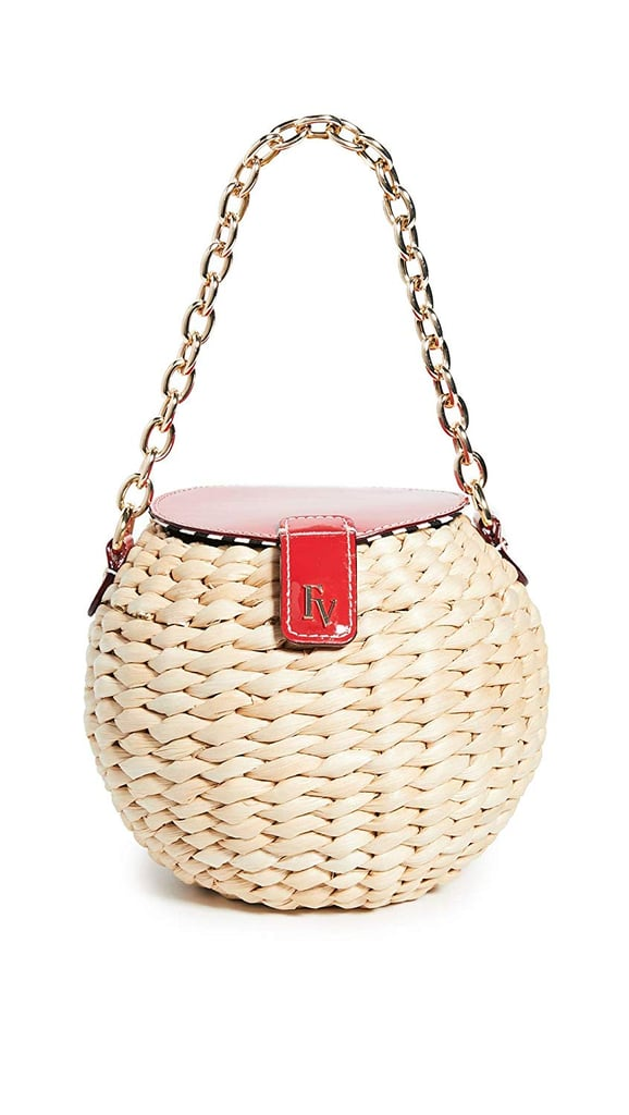 Frances Valentine Honeypot Mini Bucket Crossbody Bag
