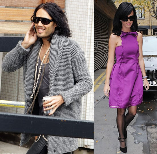 Pictures of Russell Brand and Katy Perry