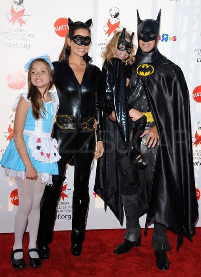 Alice in Wonderland, Catwoman, and Batman