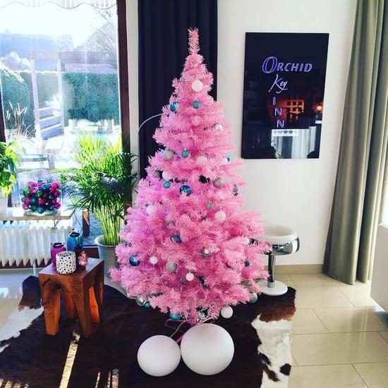 Pink Christmas Tree Ideas