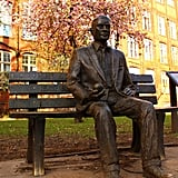 Alan Turing Memorial in Manchester, England