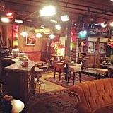 The inside of Central Perk looks just like the TV show's set and has genuine memorabilia for guests to enjoy.