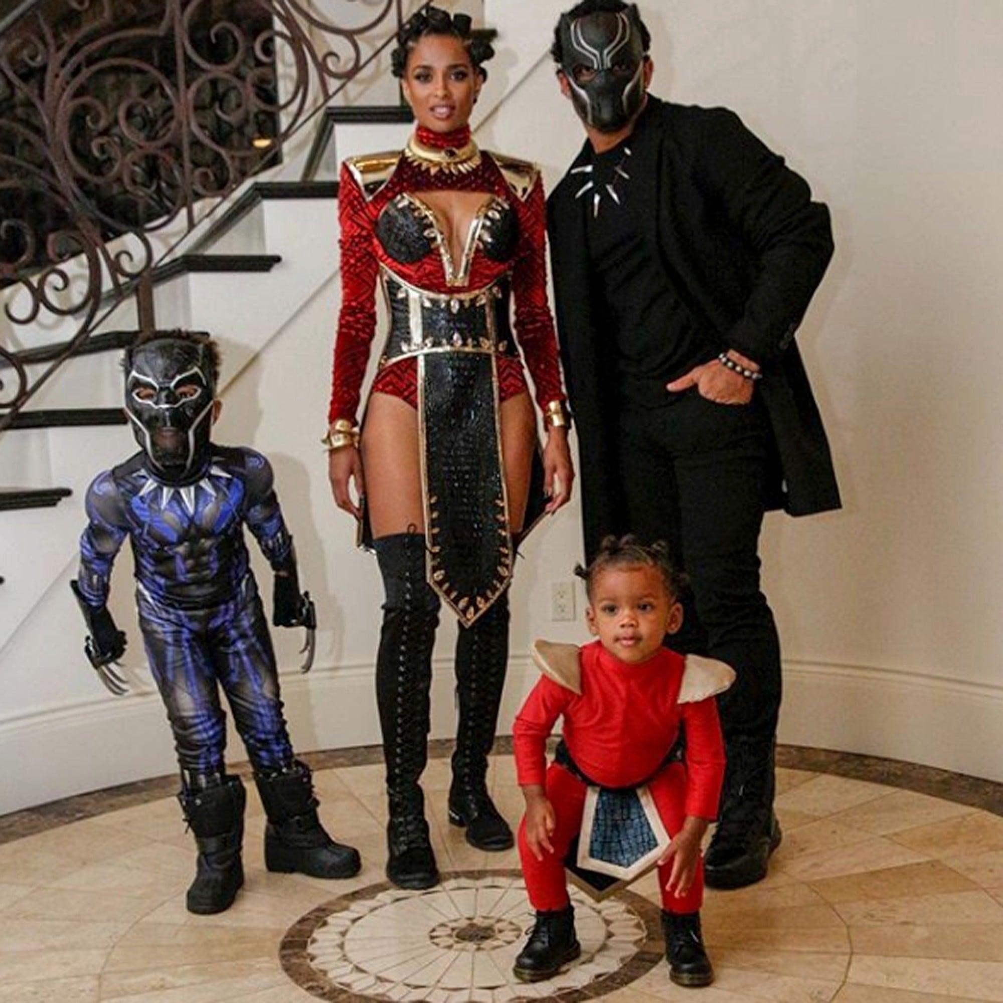 Ciara as Black Panther\u0027s Nakia Halloween Costume 2018