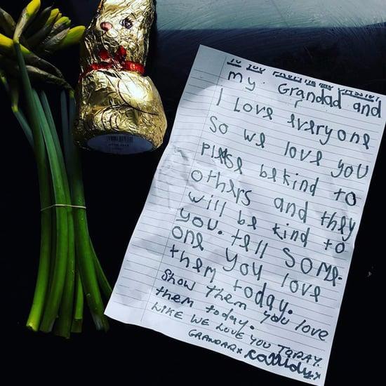 Girl and Grandfather's Random Act of Kindness