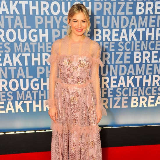 Sienna Miller Wears Burberry to the Breakthrough Prize