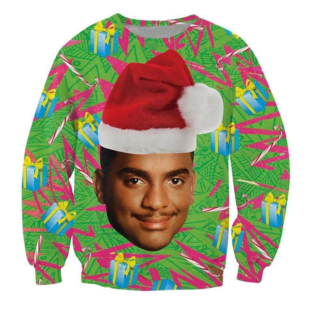 Fresh Prince Of Bel Air Ugly Christmas Sweaters Popsugar