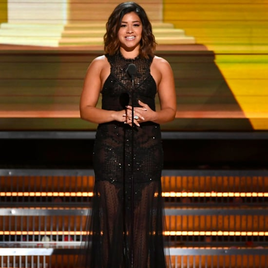 Gina Rodriguez at 2017 Grammys