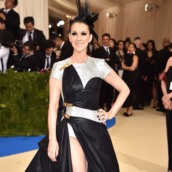 Celine Dion Wearing Versace at the Met Gala 2017