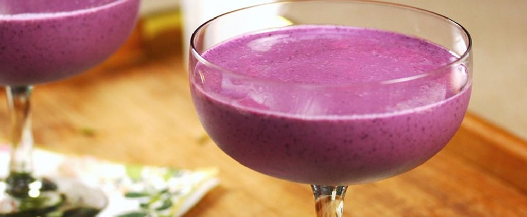 Easy and Healthy Blueberry Frozen Yoghurt Recipe