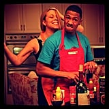 Mariah Carey and Nick Cannon prepared Thanksgiving dinner together in November 2012.  Source: Instagram user mariahcarey