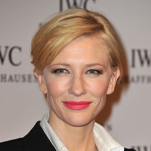 Try Cate Blanchett's Poppy-Pink Lipstick Look Two Different Ways