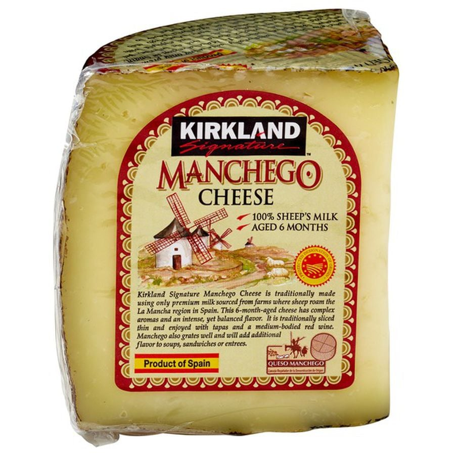 Kirkland Signature Imported Manchego ($17)