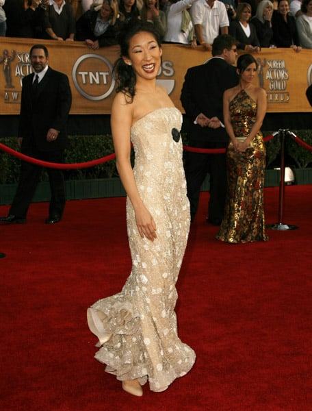 SAG Awards Red Carpet: Neutral Night Out