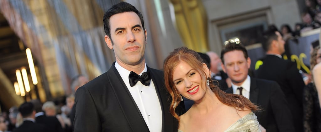 Sacha Baron Cohen and Isla Fisher Photos