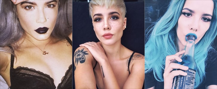 Photographic Evidence That Halsey Is the Next Big Beauty Icon