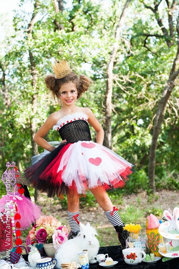 The Queen of Hearts Tutu Costume