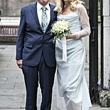 Jerry Hall's Wedding Dress at Rupert Murdoch Wedding