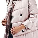 Topshop Satin Puffer Jacket ($210)