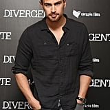Theo James = Theodoure Peter James Kinnaird Taptiklis