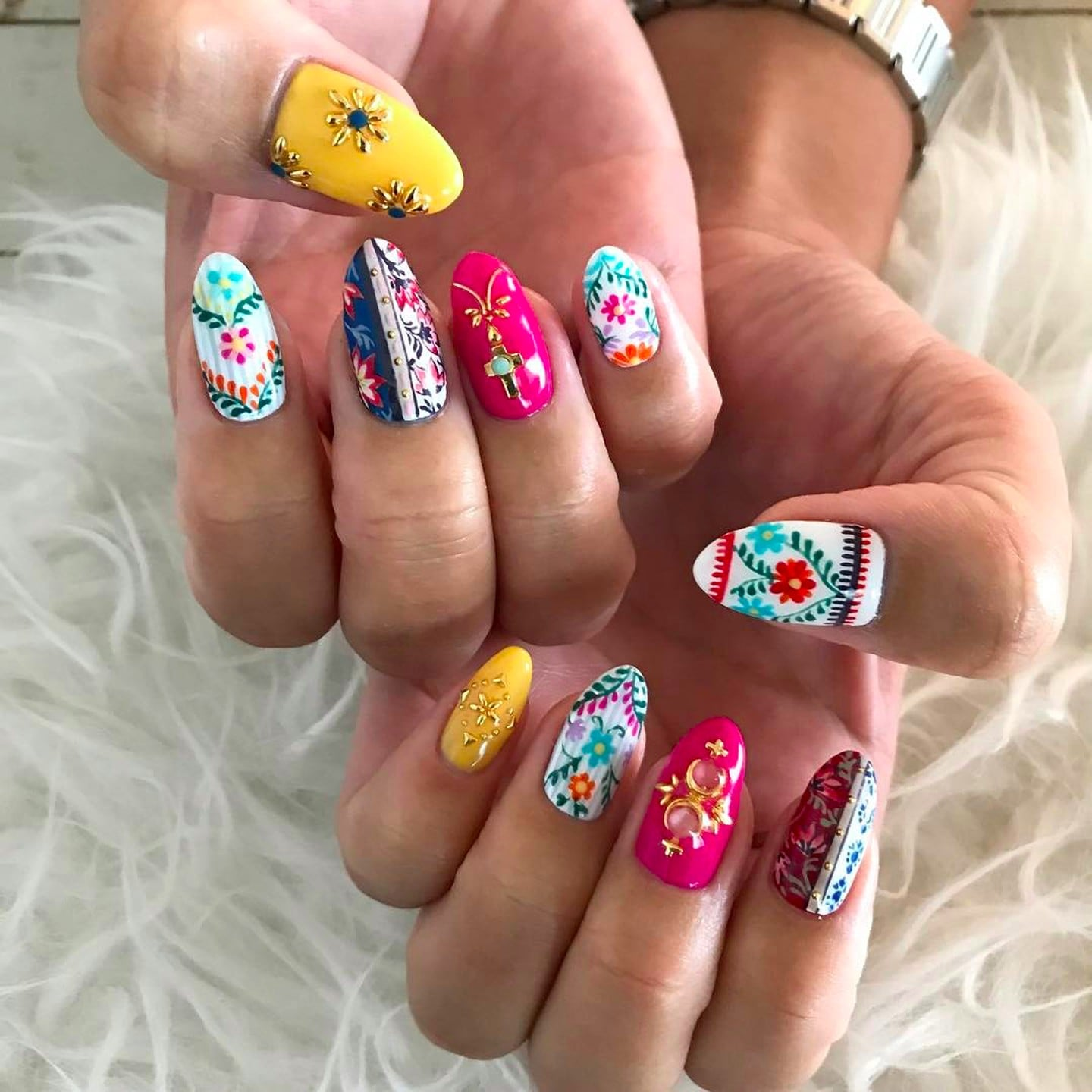 Moroccan Inspired Manicures Popsugar Beauty Uk