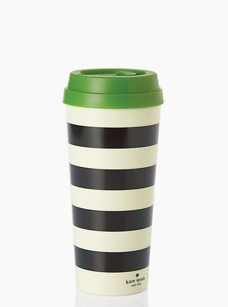 Black Stripe Thermal Mug ($10, originally $18)