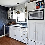 Additional counter space, a smarter layout, and a feeling of openness were all priorities for the kitchen makeover.